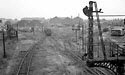 Shunting train at Leicester Belgrave Road goods depot