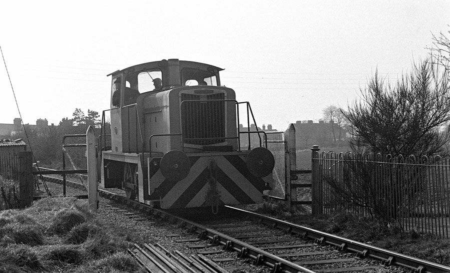 Train to Nailstone colliery