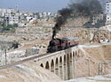Trains on the Hedjaz Railway, Amman to Qasir, Jordan