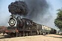 SGS class 0-6-0 departs from Gharibwal, Pakistan