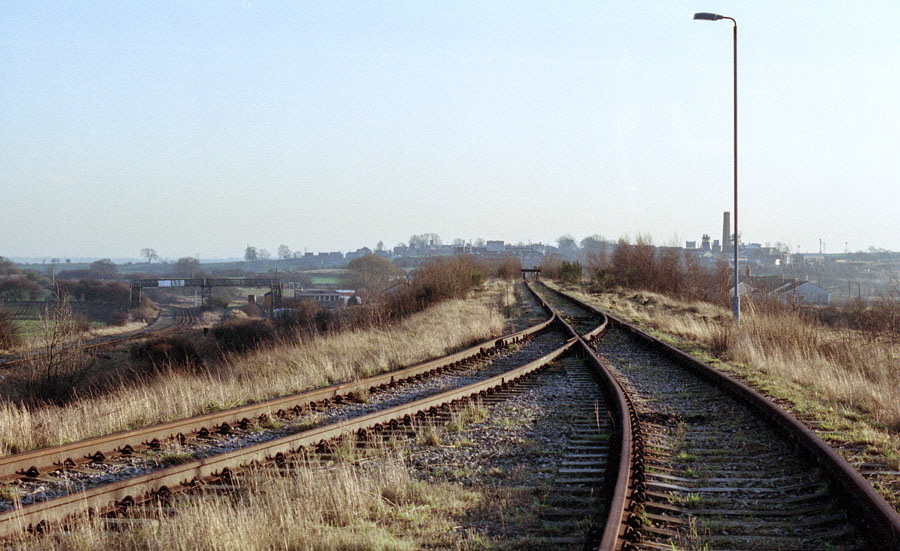 View from the disused rapid coal loader at Bagworth