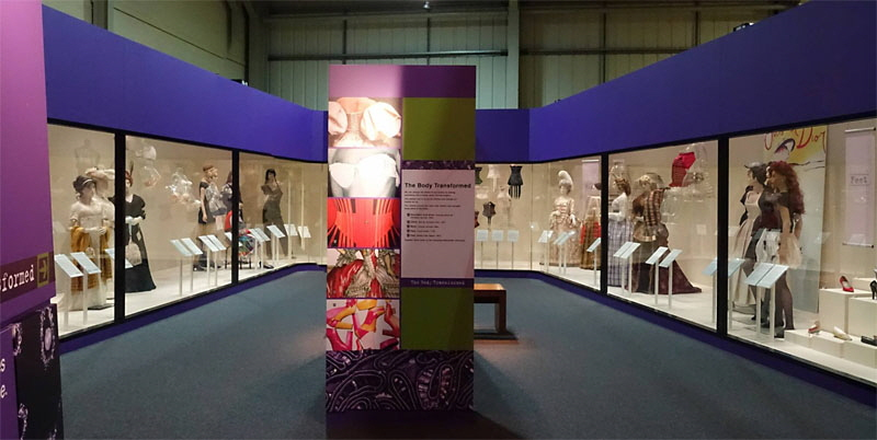 Snibston Discovery Museum Panorama Photograph Fashion Gallery